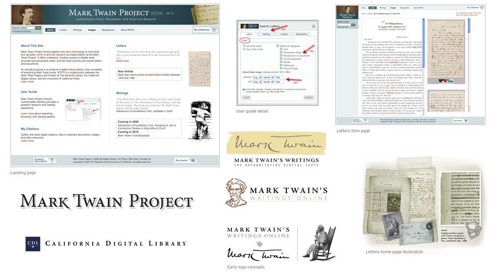 Mark Twain Project Web Site