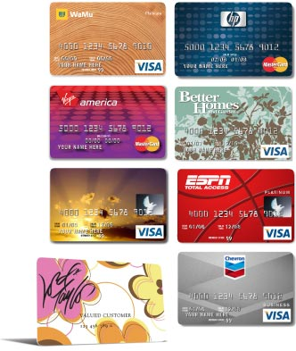 Superbe Samples Of Credit Card Designs Kessler SF Has Created For Clients Like  ESPN, Better Homes